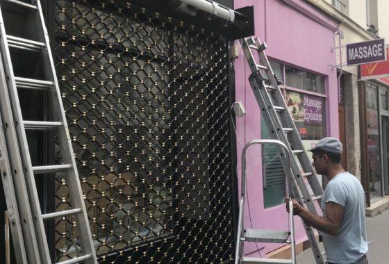Réparation rideau métallique Taverny95150