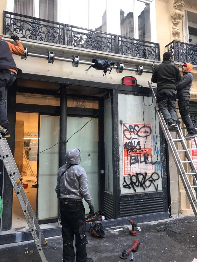Déblocage rideau métallique Montmagny95360
