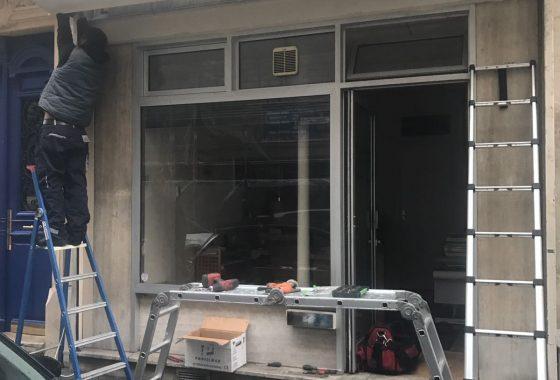 Réparation rideau métallique95